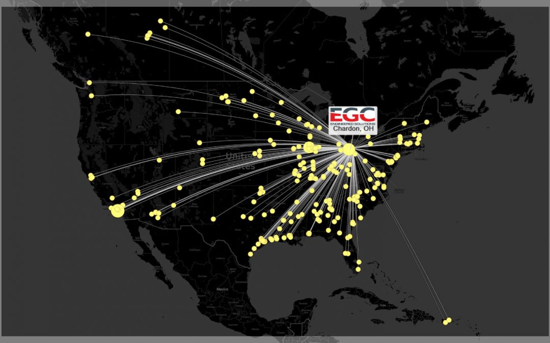 Need a Pressure Seal quickly during outage season? Let EGC put you on the map.